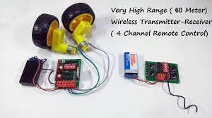 Wireless <b>Remote Control</b> System for <b>RC</b> Car/<b>Boat</b>/Plane - Long ...
