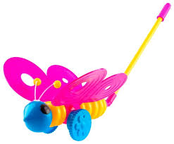 <b>Каталка</b>-<b>игрушка Пластмастер Бабочка</b> (12001) — купить по ...