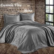 Жаккардовое <b>покрывало Dantela Vita Mina</b>... - Dantela Vita collection