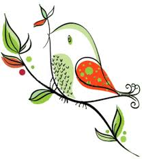 Image result for whimsical birds free clip art
