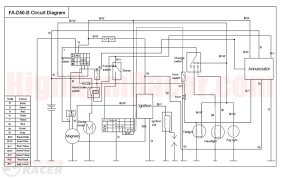 110cc atv ignition wiring diagram 110cc wiring diagrams description buyang90 wd cc atv ignition wiring diagram