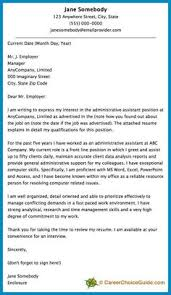 Pinterest     The world     s catalog of ideas Cover letter sample for an administrative assistant