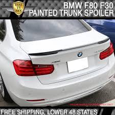 BMW <b>3</b>-<b>Series F80</b> M3 F30 Sedan V Look #668 Jet Black Trunk ...