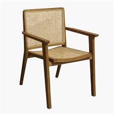 Nova <b>dining chair with</b> armrest | Raw Materials Amsterdam
