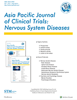 Asia Pacific Journal of Clinical Trials: Nervous System Diseases ...