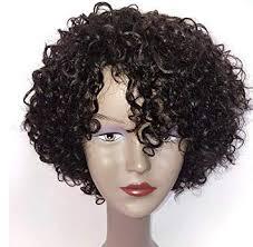 Brazilian Wigs 10 inch Short Deep Curly Human Hair ... - Amazon.com