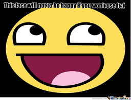 Happy Face Is Not Happy by recyclebin - Meme Center via Relatably.com