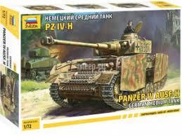 <b>Сборная модель Zvezda Немецкий</b> средний танк T-IV H 5017