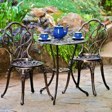 image of cast iron outdoor furniture style black iron outdoor furniture