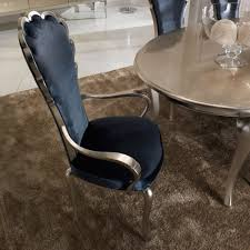 wingback dining chairs royal blue