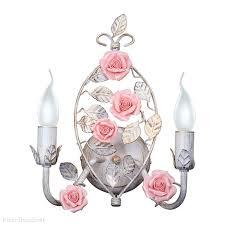 <b>бра</b> с розами <b>V1322</b>/<b>2A Vitaluce</b> Италия заказать в интернете