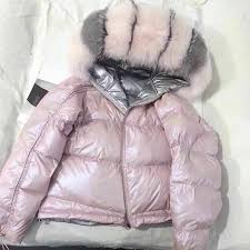 Huge <b>Real Raccoon Fur</b> Collar <b>2019</b> Winter <b>Coat</b> Women Snow ...