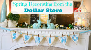 Spring Decorating Spring Decorating From The Dollar Store Youtube