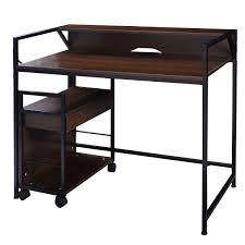 Computer Desk Cabinet Simplistic Computer Desk Office Furniture With File Cabinet