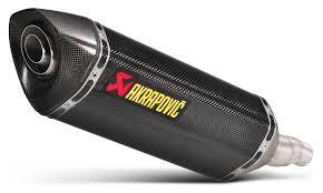 Buy <b>AKRAPOVIC</b> Slip-on Line Silencer Titanium, Carbon or ...