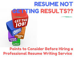 Not Getting Results  Consider This Before Hiring a Professional     Consider This Before Hiring a Professional Resume Writing Service to Help