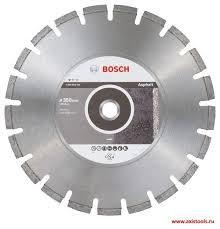 Купить <b>алмазный диск Standard</b> for Asphalt 350х25 мм 2608603831