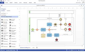 how to create a ms visio business process diagram using    how to create a ms visio business process diagram using conceptdraw pro