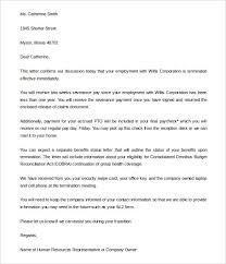free termination letter templates – free sample  example    humanresources about com   the editable job termination letter to employer word   is a simple and effective termination letter template that also