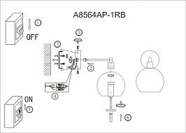 <b>Бра Arte Lamp</b> 56 A8564AP-1RB - купить , цена и фото в ...