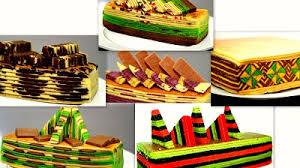 Image result for kek lapis sarawak