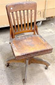antique wooden swivel desk chair antique swivel office chair