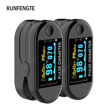 <b>2PCS</b> Digital <b>Finger Oximeter</b> Blood Oxygen Portable Electronic ...