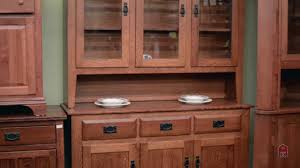 mission oak kitchen cabinets barn furniture mission oak china cabinet inspired by stickley youtube