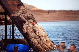 u s department of defense photo essay u s marines navigate through a water obstacle course on arta beach in aug