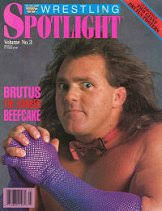 WWF Spotlight Magazine Volume No 3 Brutus The Barber Beefcake. - yhst-25011302558561_2084_60322528