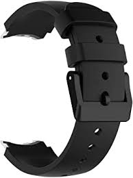 AWADUO <b>Replacement Silicone Wrist Strap</b> for TicWatch S: Amazon ...