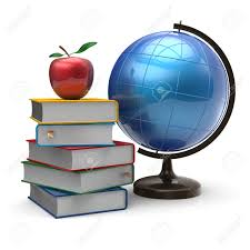 globe books apple blank global geography wisdom international globe books apple blank global geography wisdom international literature icon studying knowledge symbol concept 3d