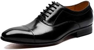 Spring Men's Leather Shoes Business Casual Pointed ... - Amazon.com