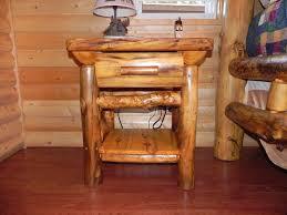 furnitureunfinished wooden log furniture lounge chair ideas impressive style log wood nightstand table ideas brilliant log wood bedroom