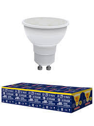 """<b>Лампочка Volpe LED</b>-<b>JCDR</b>-<b>10W</b>/WW/<b>GU10</b>/<b>NR</b> Форма """"<b>JCDR</b> ..."""