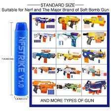 <b>6Pcs</b> 9.5cm <b>Red Sniper Rifle</b> Bullets Darts for Nerf Mega Kids Toy ...
