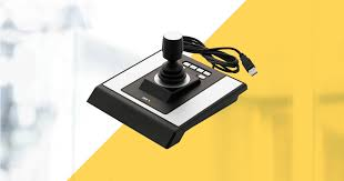 nkb1000 three dimensional joystick control 3 axis built in lcd display for cctv speed ptz camera and dvr