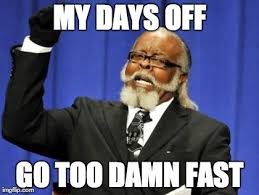 After a three day weekend - Imgflip via Relatably.com
