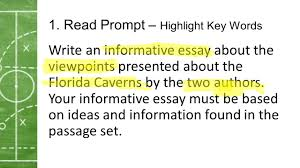 winners train losers complain fsa writing game plan ppt 11 1 prompt write an informative essay