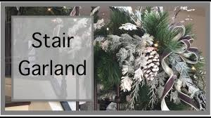 Christmas <b>Decorations</b>   How to make Your Own <b>Garland</b> - YouTube