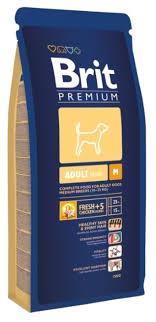 <b>Корм</b> для собак <b>Brit Premium</b> курица 18 кг (для средних пород ...