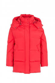 <b>куртка</b>-<b>пуховик WOOLRICH</b> Цвет: Красный - купить женскую ...