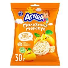 <b>Хлебцы</b> рисовые <b>Агуша</b> с грушевым соком | Отзывы покупателей
