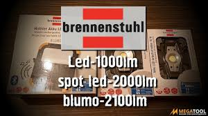 <b>BRENNENSTUHL Led</b> 1000lm, spot <b>led</b> 2000lm и blumo 2100lm ...