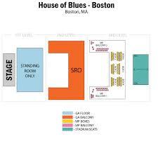 House Of Blues Boston Ma Seating Chart