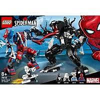 LEGO <b>Marvel Super Heroes</b> - <b>76115</b> - Spider Mech vs Venom | Toys ...