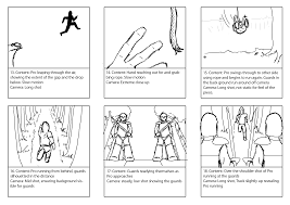 storyboard assignment and examples german s gaffes storyboard example pompeii 04