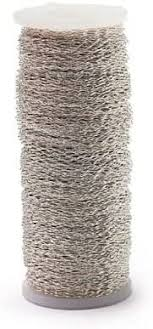 Smithers Oasis Silver Bullion (28 Gauge <b>Crimped Wire</b>) 820ft/250m ...