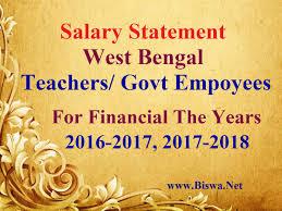 net salary statement wb pay com tax calculator monthwise salary statement wb teachers gov employee salary statement
