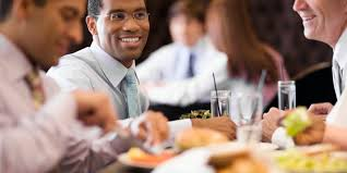 Image result for business people having lunch